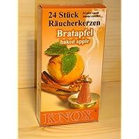KNOX Räucherkegel Räucherkerzen Bratapfel, 24 Stück in Packung preisvergleich bei billige-tabletten.eu