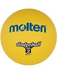 Molten DB2-YBallon de dodgeball Jaune