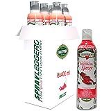 Olio extravergine di oliva aromatizzato al peperoncino (6 x 400 ml)-Con lo spray risparmi fino al 90% di prodotto