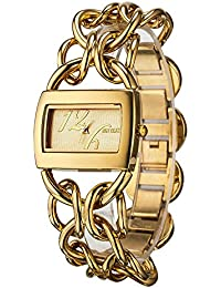 iSweven Spring Fashion alloy hollow strap fashion bracelet watch Analogue Gold Unisex Wrist Watch W1082a