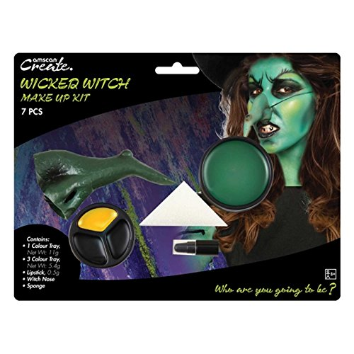 Amscan International 9901422 Wicked Hexe Make Up Kit
