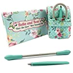 Bella And Bear Facial Hair Remover For Women Easy Hair Removal For Lip Chin Moustache Epilator Tweezers And Travel Pouch Included