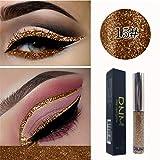 Mitlfuny Mitlfuny Puff Nailart Lippenstift Lidschatten Beauty Tools Concealer,Glitter Liquid Eyeshadow Wasserdichte langanhaltende Shimmer Eyeliner Cosmetic