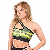 Gorilla Wear Women's Reno Sports Bra - gelb - Bodybuilding und Fitness Sport-BH, XS