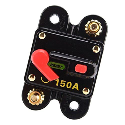 Homyl Automatiksicherung 150A Automatik Sicherung 150A Sicherungsautomat 12V/24V