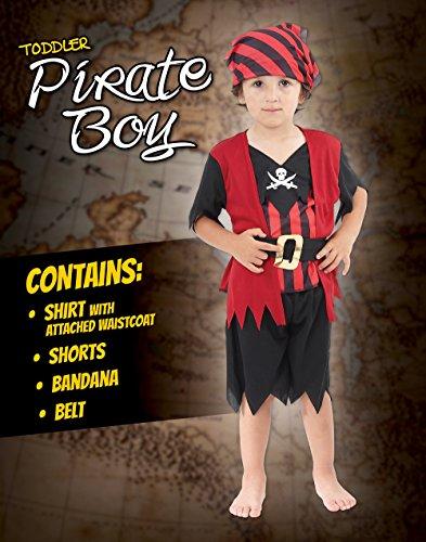 Imagen de pirate  disfraz de pirata para niño, talla 2  3 años cc019  alternativa