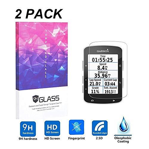 9e5a0b9fb LUXACURY Garmin Edge 520 GPS Displayschutzfolie, LUXACURY 3er Pack  Panzerglas Schutzfolie für Garmin Edge 520