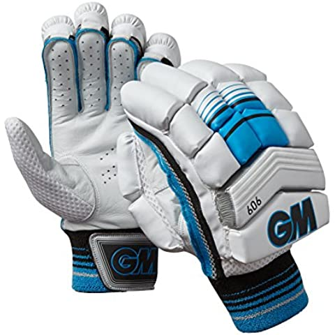 GM 606 – Mano Sinistra Batting Guanti, Taglia unica, colore: blu - Batting Guanto Set