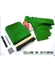 Hainsworth Club Récupérer Kit de coussin et de lit pour 7m UK Table de billard–Vert/Olive