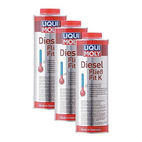 Preisvergleich Produktbild 3x LIQUI MOLY 5131 Diesel Fließ-Fit K Winterfest Kraftstoffzusatz Additiv 1L