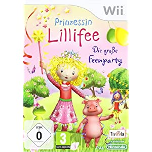 Prinzessin Lillifee – Die große Feenparty – [Nintendo Wii]