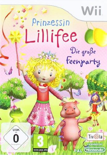 Prinzessin Lillifee - Die große Feenparty - [Nintendo Wii] - Nintendo Familie Die Für Wii Spiele