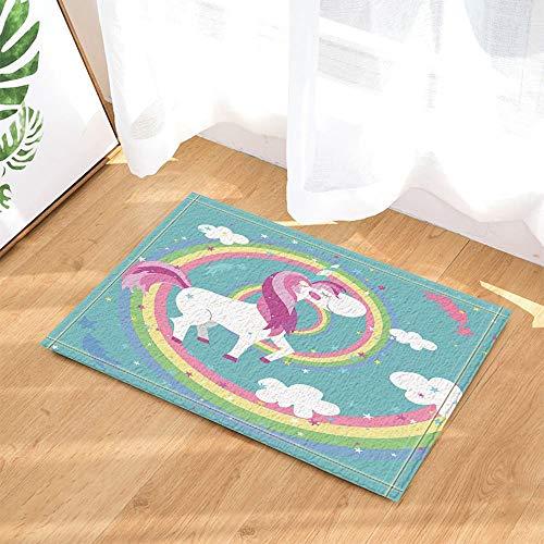 SRJ2018 Animales Dibujos Animados Decoración Unicornios