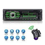 X-REAKO Autoradio Bluetooth Stereo da auto Radio Supporto Lettore MP3 Chiamata vivavoce FM Radio Volante Telecomando, Carica rapida