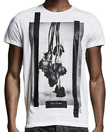 Religion Clothing Herren T-Shirt Shirt Black Roses