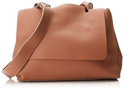 Swankyswans Damen Kelly 2 In 1 Shoulder Handbag Schultertasche, Braun (Tan), 12x24x30 Centimeters -