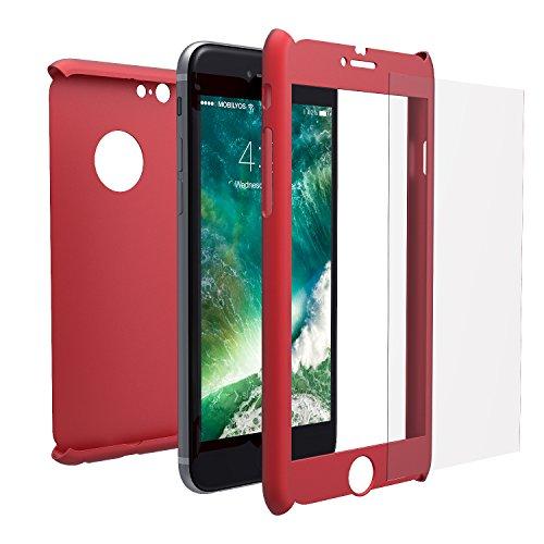 Funda iPhone 6s 360 Integral Para Ambas Caras + Protector de Pantalla...