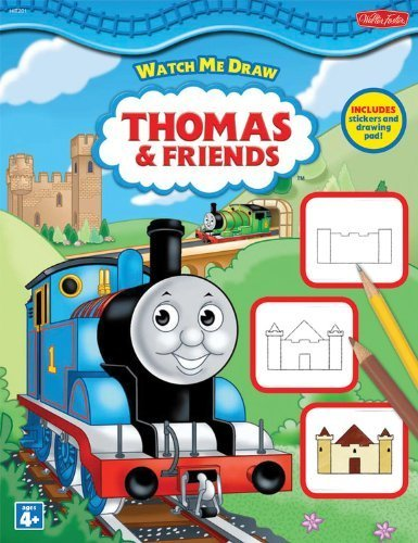 Watch Me Draw Thomas & Friends by Walter Foster Creative Team (2009) Paperback