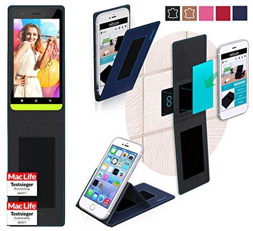 reboon Hülle für BLU Studio 5.0 LTE Tasche Cover Case Bumper | Blau | Testsieger (Studio Blu Blau 5)
