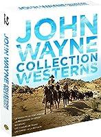 John Wayne - Collection Westerns : Le Massacre de Fort Apache + La Prisonnière du Désert + Rio Bravo + Les Voleurs de Train + Les Cordes de la Potence - Coffret Blu-Ray