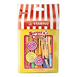 STABILO point 88 Mini - Sachet Sweet Colors de 15 stylos-feutres pointe fine (Édition Limitée)