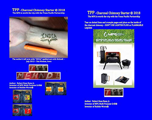 TPP - charcoal chimney starter: The MPG is worth the trip with the Trans Pacific Partnership (English Edition)