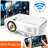 [WiFi Beamer] DIDAR Wireless Mini Beamer 3500 Lumen Mini WiFi Projektor, Video...