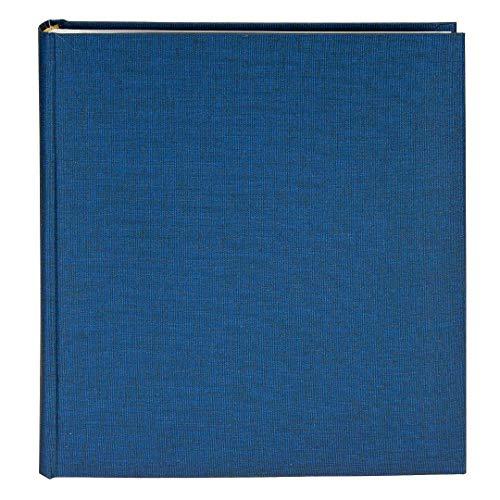 Goldbuch Fotoalbum, Summertime, 25 x 25 cm, 60 weiße Seiten mit Pergamin-Trennblättern, Leinen, Blau, 24708