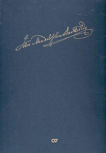 Denn er hat seinen Engeln befohlen: Faksimileausgabe der einzeln überlieferten Motette nach dem Autograph in der Staatsbibliothek zu Berlin - Preussischer Kulturbesitz