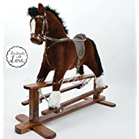 MARS Handmade Rocking Horse cheval à bascule cavallo a dondolo schaukelpferd MADE IN EUROPE AMAZING ROCKING HORSE buy with confidence direct from manufacturer