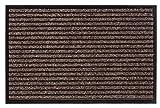 andiamo Felpudo, Polipropileno, Braun - Rippe, 58 x 78 cm