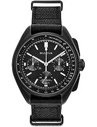 Bulova Men's Analogue Quartz Watch with Leather Strap 98A186