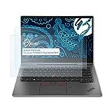 Bruni Schutzfolie kompatibel mit Lenovo ThinkPad X1 Yoga 4rd Gen 2019 Folie, glasklare Bildschirmschutzfolie (2X)