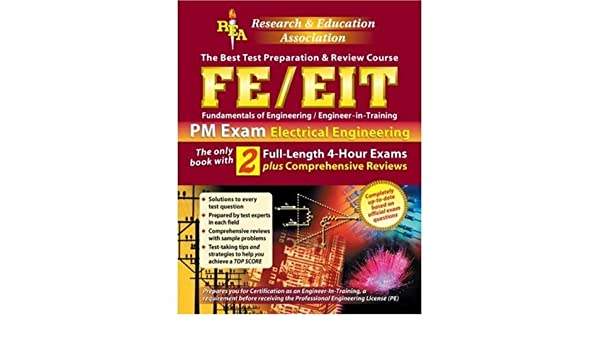 Buy Fe/Eit Pm Exam in Electrical Engineering: The Best Test
