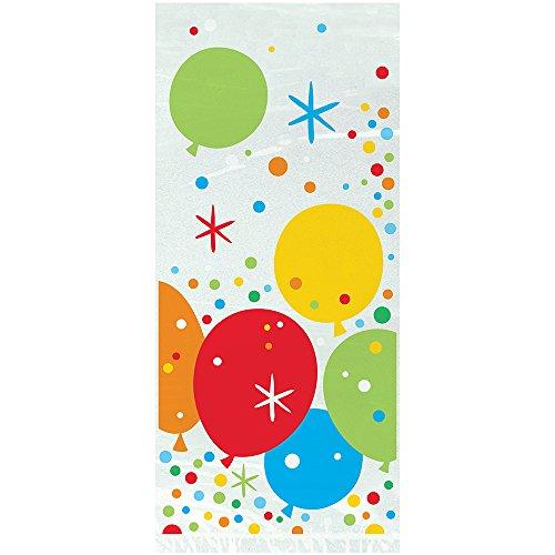 litzy Gold Happy Birthday Zellophan, 20Stück (Birthday Party Favor Taschen)