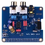 Kuman PIFI Digi DAC+ HIFI DAC Audio carte son Module I2S interface pour Raspberry pi 3 2 Model B B+ Digital Audio Card Pinboard V2.0 Board SC08 (SC08)
