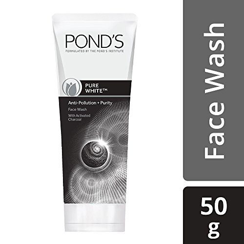 POND\'S Pure White Anti Pollution Face Wash, 50g