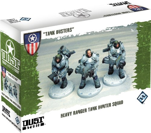 Fantasy Flight Games DT021 - Dust Tactics: Allies Tank Busters