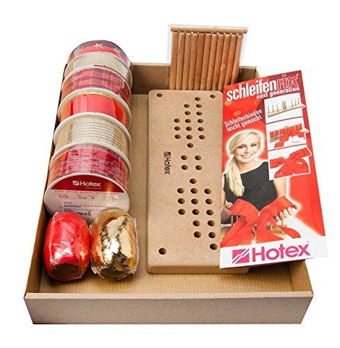 Hotex Schleifenfix-Set Weihnachten - Aktion - inkl. 6 Strängchen kostenlos