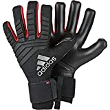 adidas Predator Pro Gants Gardien de But Mixte Adulte, Black/Active Red, FR : L (Taille Fabricant : 8)