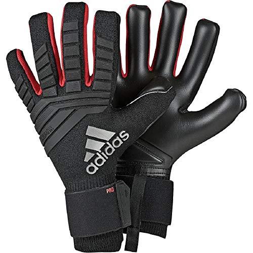 adidas Herren Predator Pro Torwarthandschuhe, Black/Active Red, 9