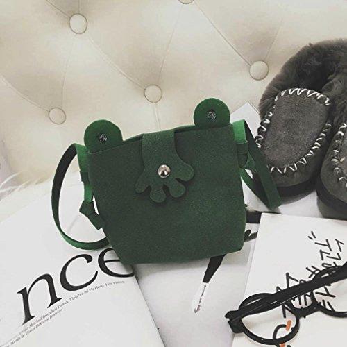 BZLine® Baby Cartoon Crossbody Handtaschen Schultertasche Bag Grün