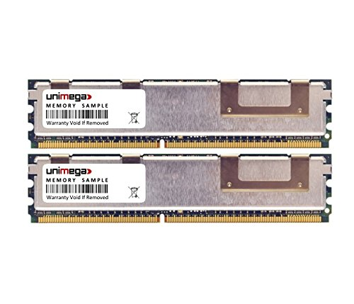 unimega 8GB (2X 4GB) Fully Buffered RAM Kit für IBM Lenovo x3500 (7977-xxx) DDR2 667MHz PC2-5300F -