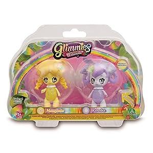 Glimmies-GLN01000 Blíster doble, serie 2 (Giochi Preziosi Spagna 01000), Modelos aleatorios