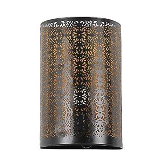 albena shop 71- oriental wall lamp H 30cm / W 19cm (Kavita black)