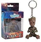 MATECam Groot Action Figures Guardians of The Galaxy Baby Cute Model Key Chain Toys Best Gifts (Type 2)