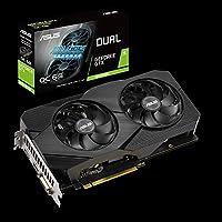 ASUS Dual GeForce GTX 1660 Super OC Edition 6GB GDDR6 - Tarjeta gráfica (Ventiladores Axial-Tech, diseño de 2,7 Ranuras, Auto-Extreme Technology, HDMI 2.0, DP 1.4)