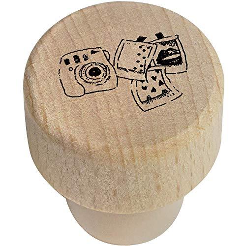Azeeda 19mm 'Polaroid-Set' Flaschenverschluss (BS00004201) Polaroid 19