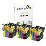 12 Colour Direct LC223 Ink Cartridges...