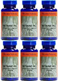 (6 PACK) - Higher Nature - Betaine Hcl | 90